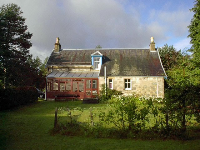 Sun Lounge at Craignay Self catering cottage in Cairngorms National Park, Scotland