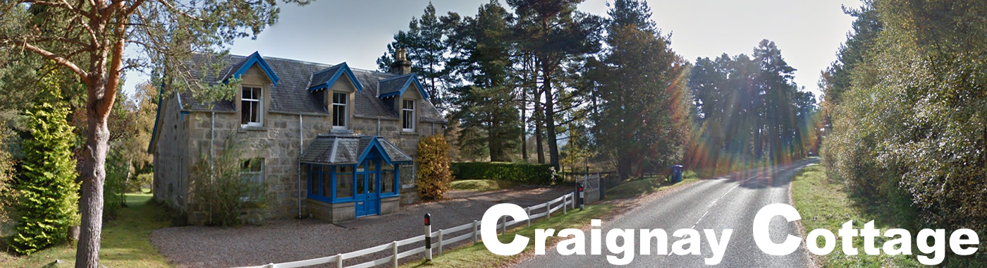 Craignay Self catering cottage in Cairngorms National Park, Scotland